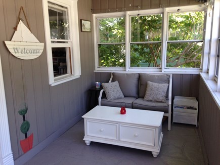 North Falmouth Cape Cod vacation rental - Front Porch