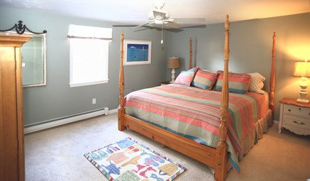 Dennis Cape Cod vacation rental - First Floor Master Suite, private bath, King bed