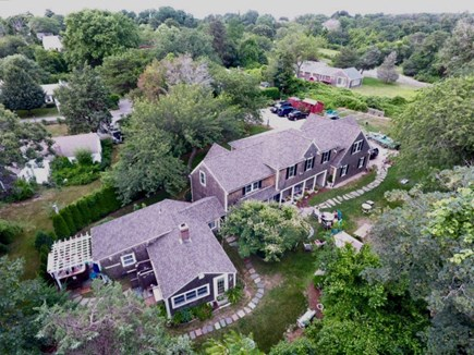 Dennis Cape Cod vacation rental - Huge home and large driveway fit the whole family comfortably.