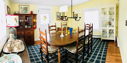 Dennis Cape Cod vacation rental - Dining Room seats up to 8, seating for 5 @ granite bar in kitchen