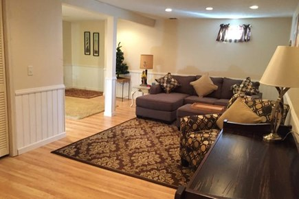 East Falmouth Cape Cod vacation rental - Finished Basement