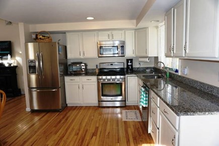 East Falmouth Cape Cod vacation rental - Updated Kitchen with stainless steel appliances