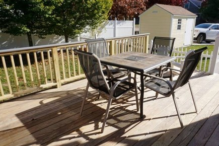 East Falmouth Cape Cod vacation rental - Deck