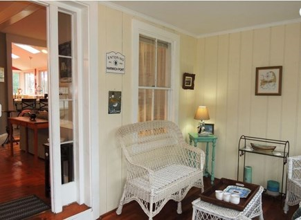 Harwich Port Cape Cod vacation rental - Porch
