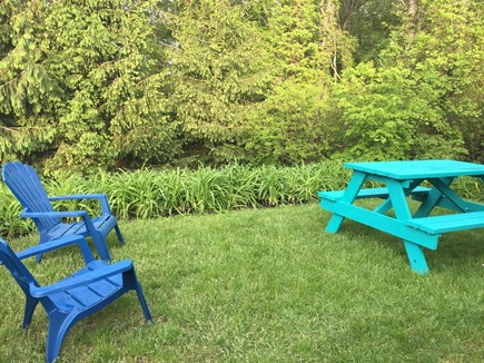East Brewster Cape Cod vacation rental - Enjoy a BBQ in the yard!