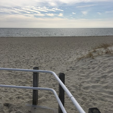 South Yarmouth Cape Cod vacation rental - Smugglers Beach  (1 1/2 mile walk or bike ride)Great snack bar!