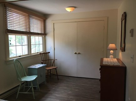 South Yarmouth Cape Cod vacation rental - Bedroom seating area with large closet