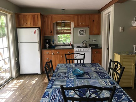 South Yarmouth Cape Cod vacation rental - Dining area and kitchen