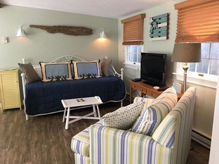 South Yarmouth Cape Cod vacation rental - Living room with day bed