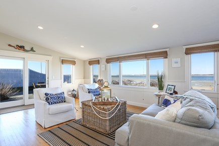 Barnstable Cape Cod vacation rental - Second Living Room with ocean views