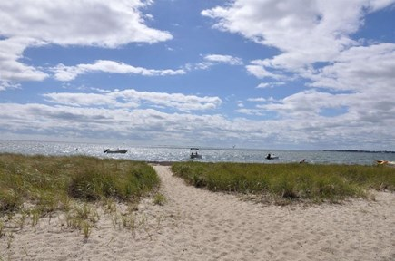 Provincetown Cape Cod vacation rental - Private bay beach just 400 feet away!