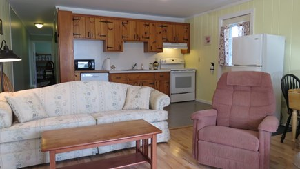 Provincetown Cape Cod vacation rental - Looking into Kitchen from Living room
