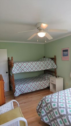 Provincetown Cape Cod vacation rental - Bedroom 2: Full and Twin Bunks