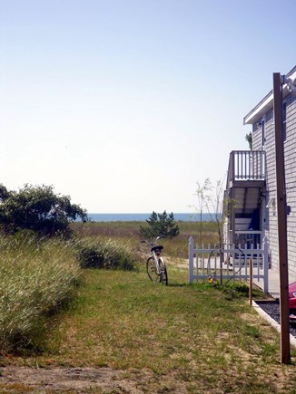 Provincetown--Beach Point Cape Cod vacation rental - View from side of building