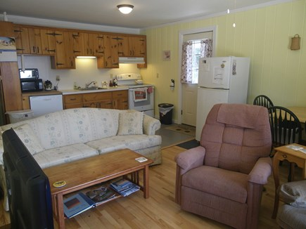 Provincetown--Beach Point Cape Cod vacation rental - Open floor plan--Kitchen, Dining, Living Room