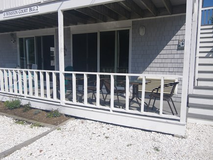 Provincetown--Beach Point Cape Cod vacation rental - Private Deck