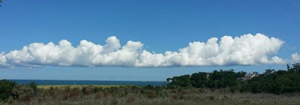 Brewster Cape Cod vacation rental - Clouds over the Bay, view from the deck