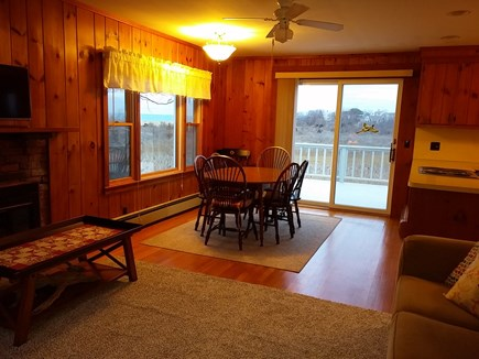 Brewster Cape Cod vacation rental - Dining area looking out to marsh and bay