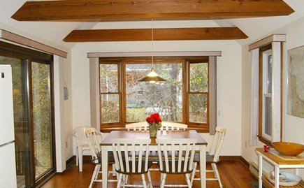 Eastham Cape Cod vacation rental - Dining area with slider to deck