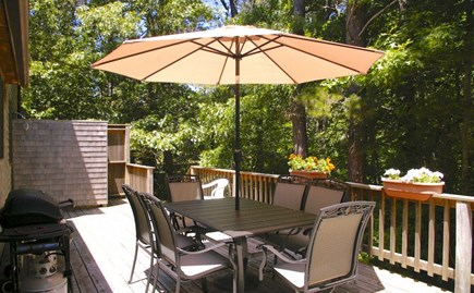 Eastham Cape Cod vacation rental - Comfortable outdoor furniture