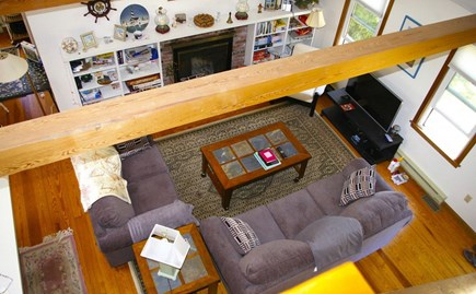 Eastham Cape Cod vacation rental - Vaulted ceilings for an open airy feel