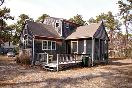 Eastham Cape Cod vacation rental - Screened porch plus deck