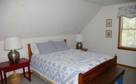 Eastham Cape Cod vacation rental - Master bedroom up with bath