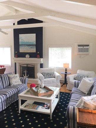 East Dennis Sesuit Neck Cape Cod vacation rental - Living room