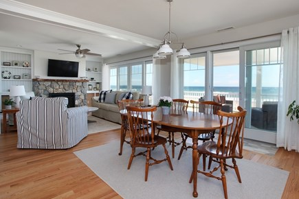 Sandwich Cape Cod vacation rental - Eating Area...with a View