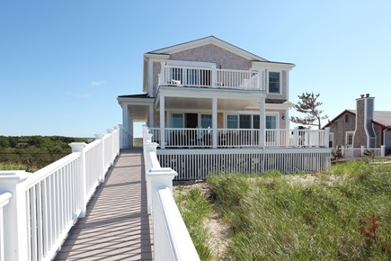 Sandwich Cape Cod vacation rental - Walkway from the Ocean