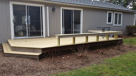 FALMOUTH  Cape Cod vacation rental - 110 'x 20' deck