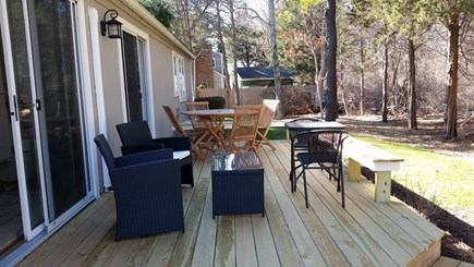 FALMOUTH  Cape Cod vacation rental - Deck furnishings