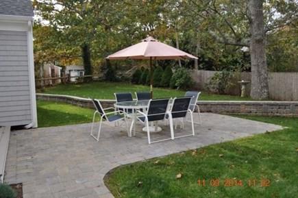 Harwichport Cape Cod vacation rental - Back Yard