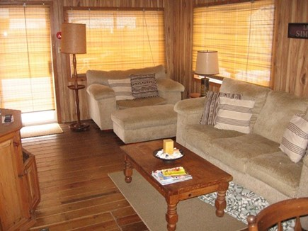Dennis Port Cape Cod vacation rental - Family Room opening onto Deck