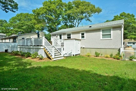East Falmouth Cape Cod vacation rental - Rear of Bungalow
