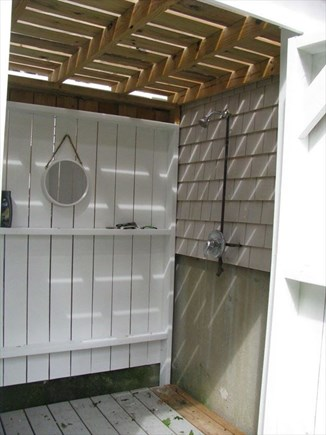 East Falmouth Cape Cod vacation rental - Outside Shower