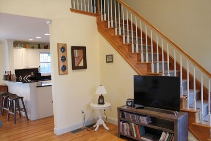 Harwich Cape Cod vacation rental - Living to Dining Area