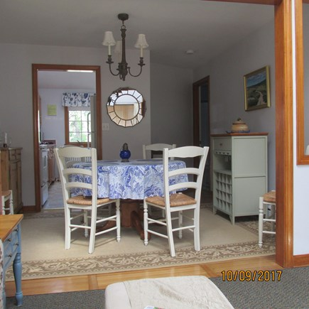 West Dennis Cape Cod vacation rental - Dining Room viewed from living room