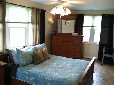 West Yarmouth Cape Cod vacation rental - Master Bedroom with queen bed and full bath