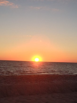 Wellfleet Cape Cod vacation rental - Enjoy sunsets like this one daily at Duck Harbor, Bay Side Wlft