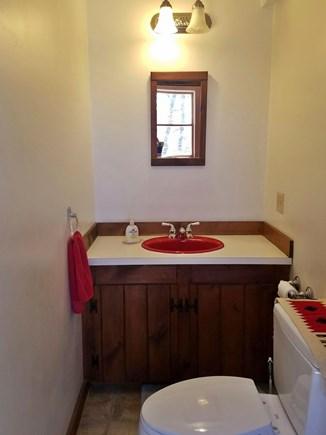 Wellfleet Cape Cod vacation rental - Half Bath on Main Floor