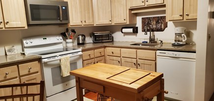 Wellfleet; less than a mile to Cape Cod vacation rental - Newly remodeled kitchen, new cabinets, counter tops and island