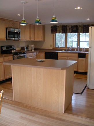 Wellfleet Cape Cod vacation rental - Large well equipped kitchen with plenty of counter space
