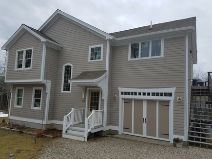 Wellfleet Cape Cod vacation rental - New Home with peeks of Wellfleet Harbor, near village/bay beaches