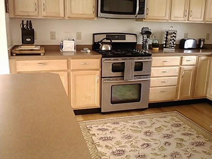 Wellfleet Cape Cod vacation rental - Kitchen with Jennaire five burner gas stove and two ovens