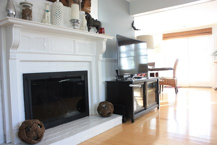 Mashpee Cape Cod vacation rental - Gas fireplace