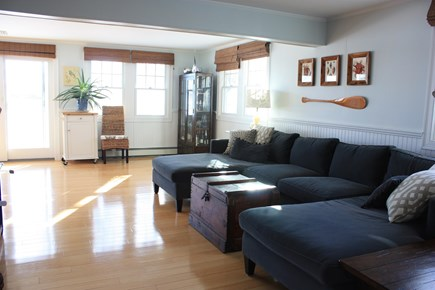 Mashpee Cape Cod vacation rental - Livingroom with ocean views