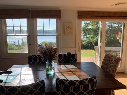Mashpee Cape Cod vacation rental - Dining room table with additional leaves for more seating