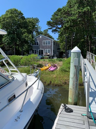 Mashpee Cape Cod vacation rental - House with private dock