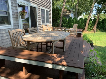 Mashpee Cape Cod vacation rental - Enjoy your meals outside!